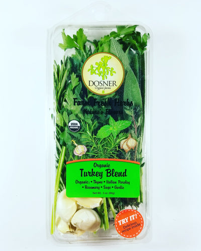 Organic Turkey Blend - Dosner Organics Farms