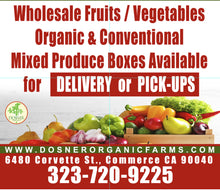Load image into Gallery viewer, Conventional Mixed Fruit & Veggie Box 25 lb - Dosner Organics Farms