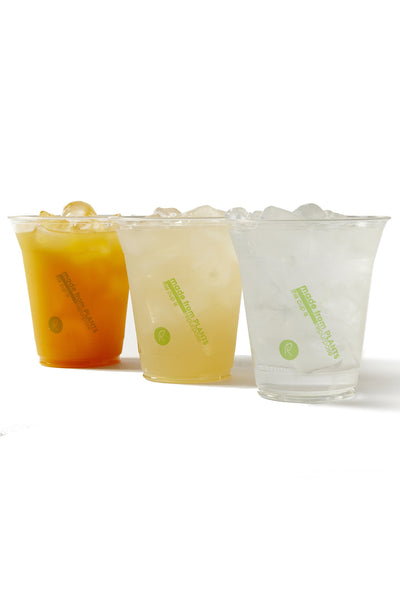 Repurpose 100% Compostable Plant-Based Clear Cold Cup, 12-Ounce (50 Count)