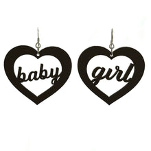 "Load image into Gallery viewer, ""Baby Girl"" Earrings"