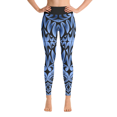 Owl Post - Coast Salish Yoga Leggings | Salish.Design: Coast Salish Art Clothing