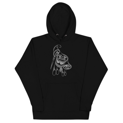 Precious Hummingbird - Premium Unisex Hoodie | Salish.Design: Coast Salish Art Clothing