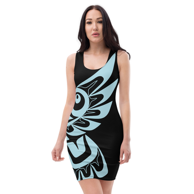 Hawk - Cut & Sew Dress | Salish.Design: Coast Salish Art Clothing