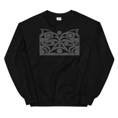 Guardian Spirit Vision - Classic Unisex Sweatshirt | Salish.Design: Coast Salish Art Clothing