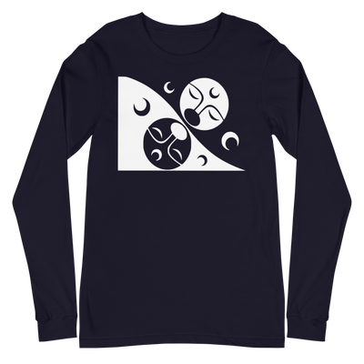 Patron - Long Sleeve Unisex T-Shirt | Salish.Design: Coast Salish Art Clothing