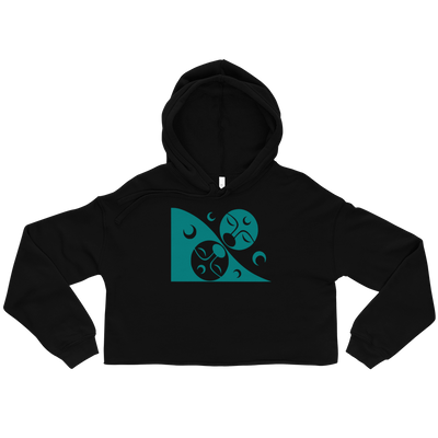 Patron - Cropped Hoodie | Salish.Design: Coast Salish Art Clothing