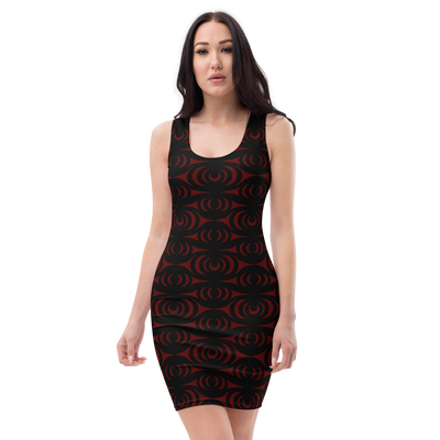 Salish Bracelet - Cut & Sew Dress | Salish.Design: Coast Salish Art Clothing