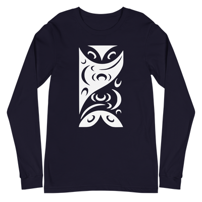 Redefining Each Other - Classic Unisex Long Sleeve Tee | Salish.Design: Coast Salish Art Clothing