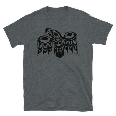 Eagle - Unisex Coast Salish T-Shirt | Salish.Design: Coast Salish Art Clothing