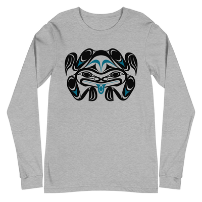 Chief Tzouhalem Transformed - Unisex Long Sleeve Tee | Salish.Design: Coast Salish Art Clothing