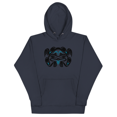 Chief Tzouhalem Transformed - Premium Unisex Hoodie | Salish.Design: Coast Salish Art Clothing