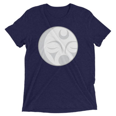 Crescent Moon - Tri-Blend Unisex T-Shirt | Salish.Design: Coast Salish Art Clothing