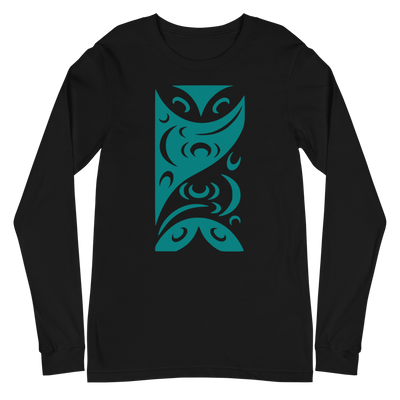 Redefining Each Other - Unisex Long Sleeve T-Shirt | Salish.Design: Coast Salish Art Clothing