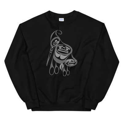 Precious Hummingbird - Classic Unisex Sweatshirt | Salish.Design: Coast Salish Art Clothing