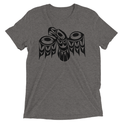 Eagle - Tri-Blend Unisex T-Shirt | Salish.Design: Coast Salish Art Clothing