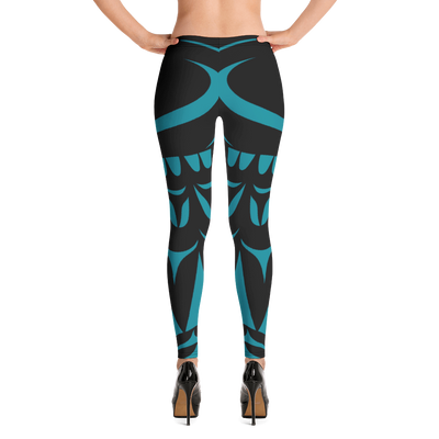 Dual Herons  - Leggings | Salish.Design: Coast Salish Art Clothing
