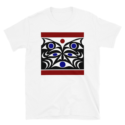 Guardian Spirit Vision - Unisex Coast Salish T-Shirt | Salish.Design: Coast Salish Art Clothing