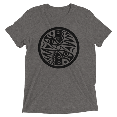 Natural Vision - Tri-Blend Unisex T-Shirt | Salish.Design: Coast Salish Art Clothing