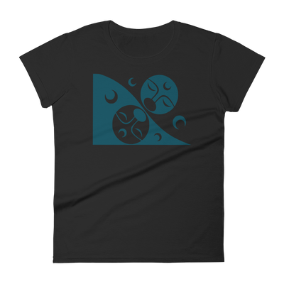Patron - Fashion Fit T-Shirt | Salish.Design: Coast Salish Art Clothing