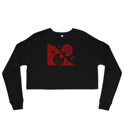 Patron - Cropped Sweatshirt | Salish.Design: Coast Salish Art Clothing