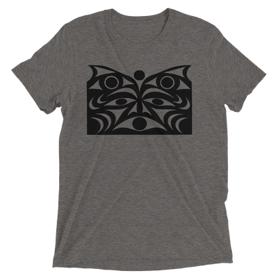 Guardian Spirit Vision - Tri-Blend Unisex T-Shirt | Salish.Design: Coast Salish Art Clothing