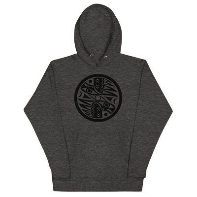 Natural Vision - Premium Unisex Hoodie | Salish.Design: Coast Salish Art Clothing