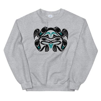 Chief Tzouhalem Transformed - Classic Unisex Sweatshirt | Salish.Design: Coast Salish Art Clothing