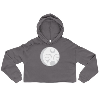 Crescent Moon - Cropped Hoodie | Salish.Design: Coast Salish Art Clothing