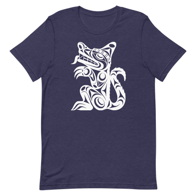 Wolf - Premium Unisex T-Shirt | Salish.Design: Coast Salish Art Clothing