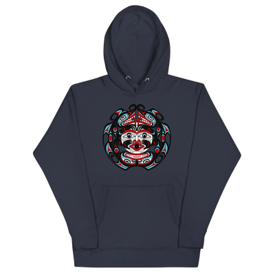 Two-Headed Serpent - Premium Unisex Hoodie | Salish.Design: Coast Salish Art Clothing