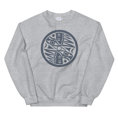 Natural Vision - Classic Unisex Sweatshirt | Salish.Design: Coast Salish Art Clothing