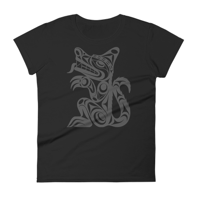 Wolf - Fashion Fit T-Shirt | Salish.Design: Coast Salish Art Clothing