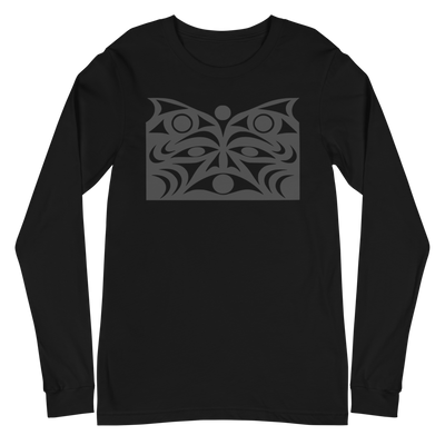 Guardian Spirit Vision - Unisex Long Sleeve T-Shirt | Salish.Design: Coast Salish Art Clothing