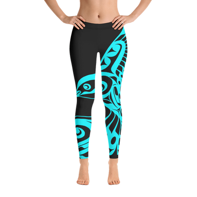 Hummingbird - Leggings | Salish.Design: Coast Salish Art Clothing