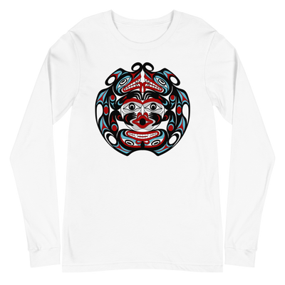 Two-Headed Serpent - Classic Unisex Long Sleeve T-Shirt | Salish.Design: Coast Salish Art Clothing