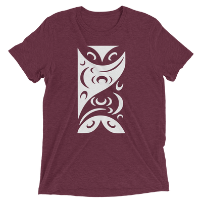 Redefining Each Other - Tri-Blend Unisex T-Shirt | Salish.Design: Coast Salish Art Clothing