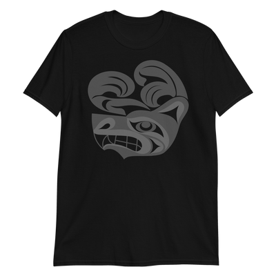 Wolf - Unisex Coast Salish T-Shirt | Salish.Design: Coast Salish Art Clothing