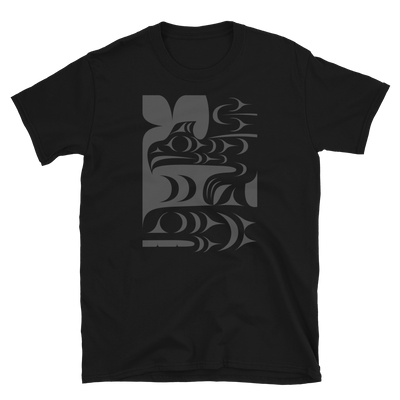 Ch'askin - Unisex Coast Salish T-Shirt | Salish.Design: Coast Salish Art Clothing