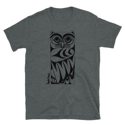 Owl Post - Unisex Coast Salish T-Shirt | Salish.Design: Coast Salish Art Clothing