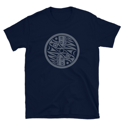Natural Vision - Unisex Coast Salish T-Shirt | Salish.Design: Coast Salish Art Clothing