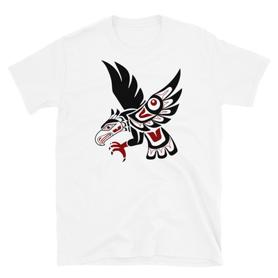Hawk - Unisex Coast Salish T-Shirt | Salish.Design: Coast Salish Art Clothing