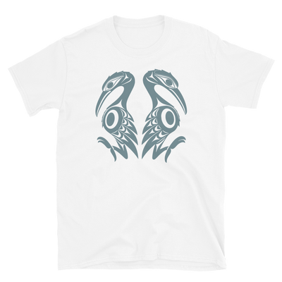 Reflections - Unisex Coast Salish T-Shirt | Salish.Design: Coast Salish Art Clothing