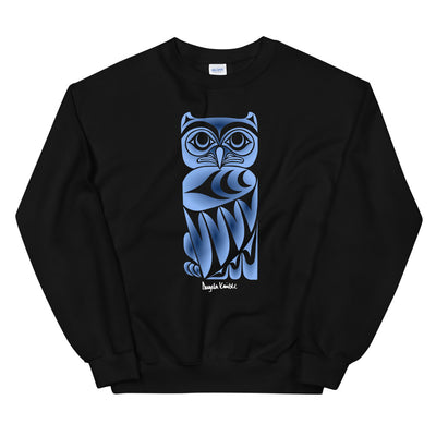 Owl Post - Classic Unisex Sweatshirt | Salish.Design: Coast Salish Art Clothing
