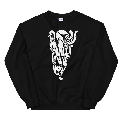 Octopus - Classic Crewneck Sweatshirt | Salish.Design: Coast Salish Art Clothing