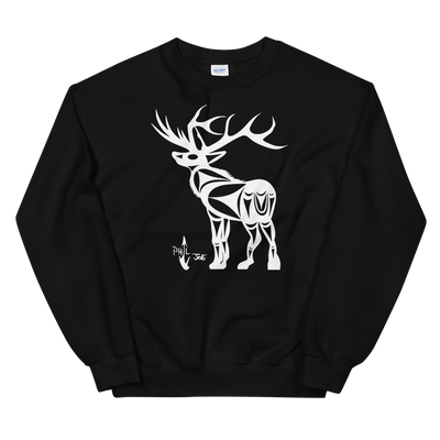 Elk - Classic Unisex Sweatshirt | Salish.Design: Coast Salish Art Clothing