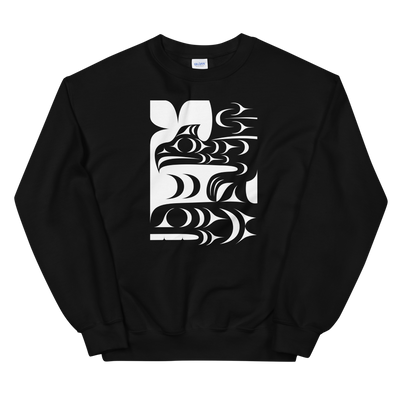 Ch'askin - Classic Unisex Sweatshirt | Salish.Design: Coast Salish Art Clothing
