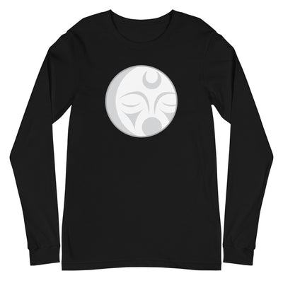 Crescent Moon - Long Sleeve Unisex T-Shirt | Salish.Design: Coast Salish Art Clothing