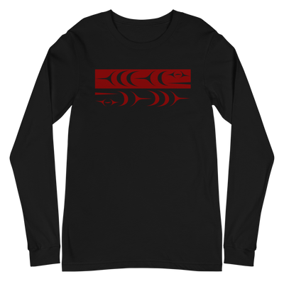 Ch'inkwu - Classic Unisex Long Sleeve Tee | Salish.Design: Coast Salish Art Clothing