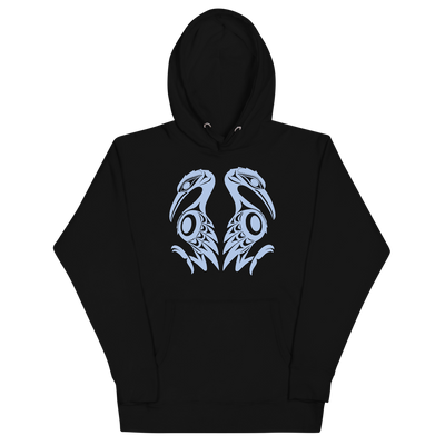 Reflections - Premium Unisex Hoodie | Salish.Design: Coast Salish Art Clothing