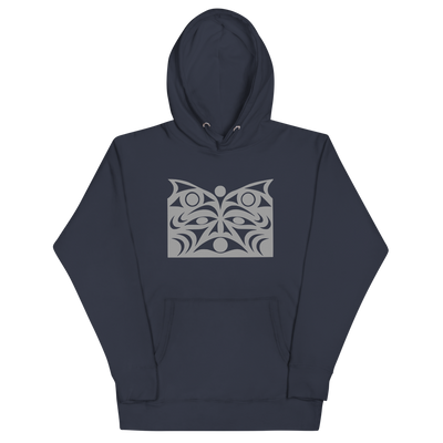 Guardian Spirit Vision - Premium Unisex Hoodie | Salish.Design: Coast Salish Art Clothing